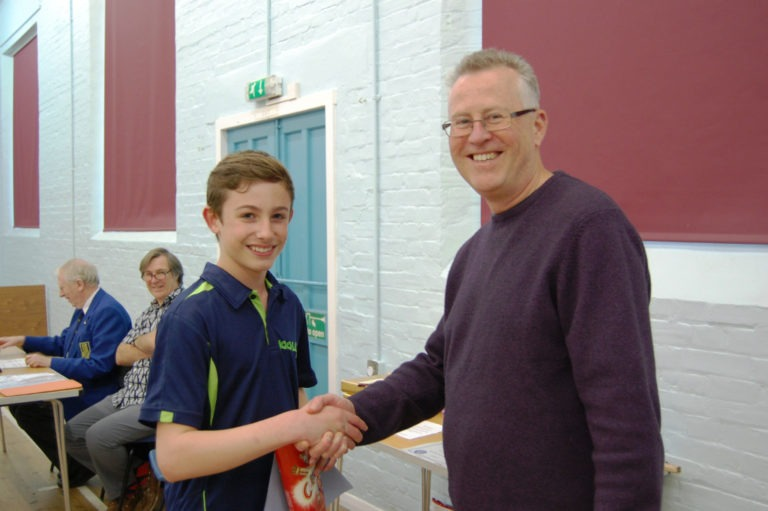 Runner Up Junior Restricted: Joe