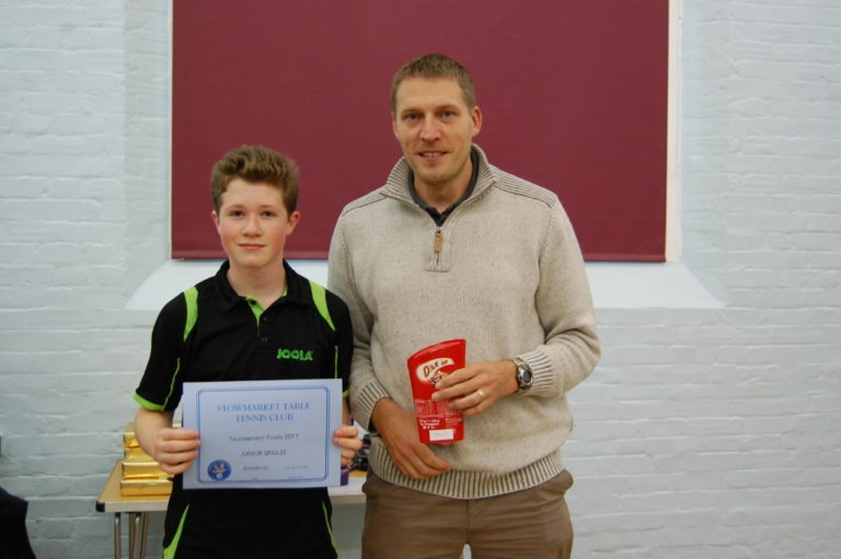 Runner up, Junior: Luke