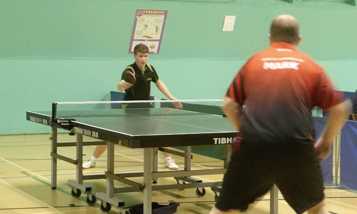 Bury St Edmunds TT League Annual Championships semi-final. Luke Davies-Stokes vs Mark James